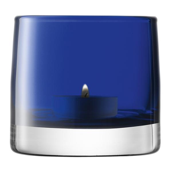 Подсвечник для чайной свечи light colour 8,5 см синий