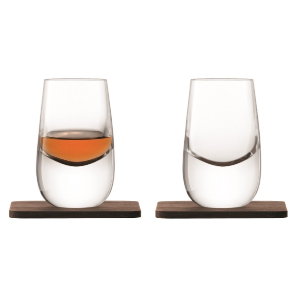 Набор из 2 шотов на подставках whisky 80 мл