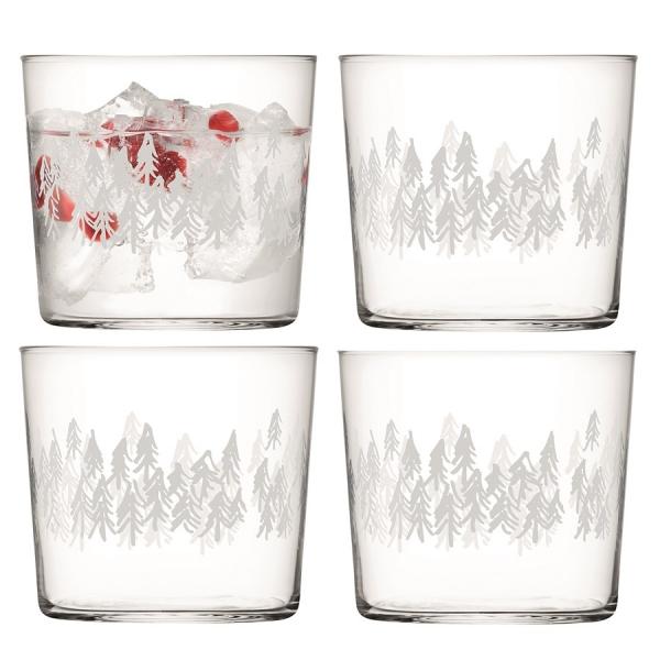 Набор из 4 стаканов fir 310 мл