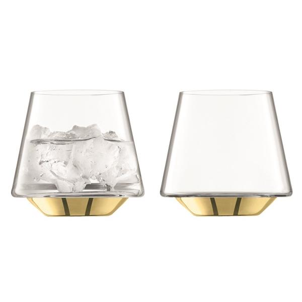 Набор из 2 бокалов для вина и воды space 430 мл золото