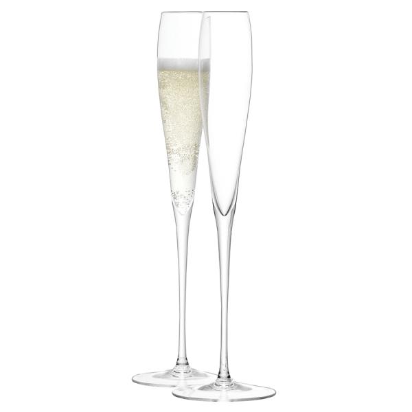Набор из 2 высоких бокалов-флейт wine 100 мл