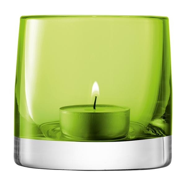 Подсвечник для чайной свечи light colour 8,5 см лайм