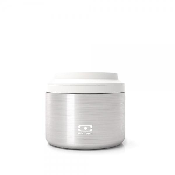 Контейнер для еды mb element s серебро