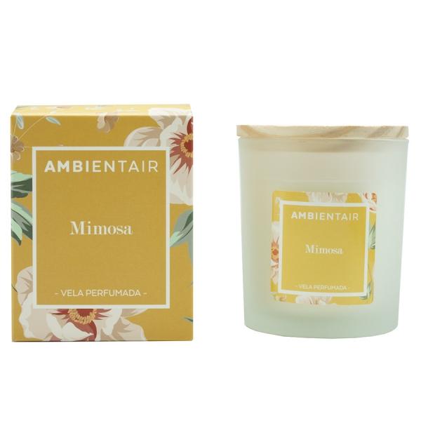 Свеча ароматическая «Мимоза» floral 30 ч