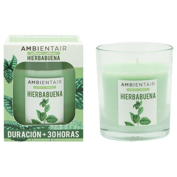 Свеча ароматическая «Мята» garden 30 ч
