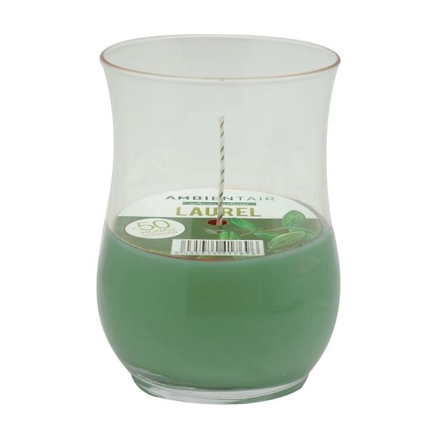 Свеча ароматическая ветроустойчивая «Лавр» garden 50 ч