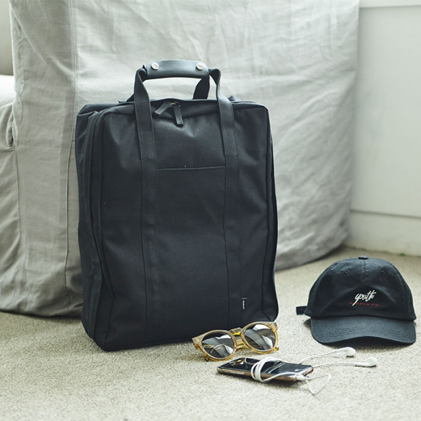 Городской рюкзак COMPACT TRUNK BACKPACK ITHINKSO черный