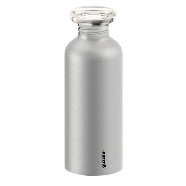 Бутылка on the go 650 мл металлик