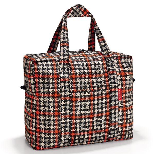 Сумка складная mini maxi touringbag glencheck red