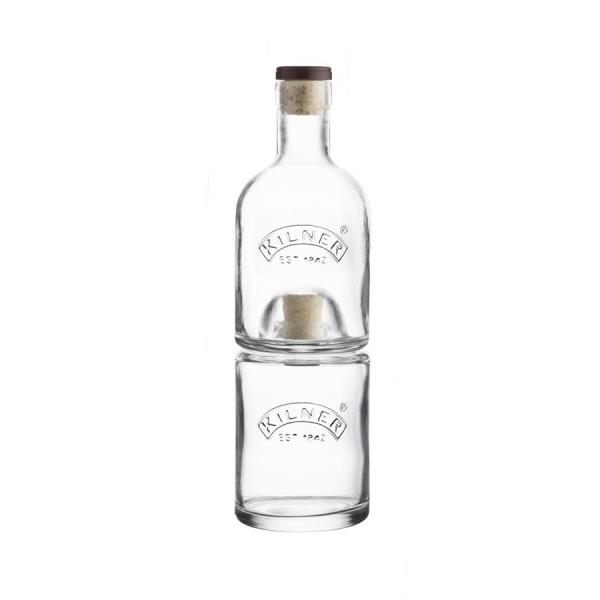Набор из 2 бутылок с пробками 0,33 и 0,35 л