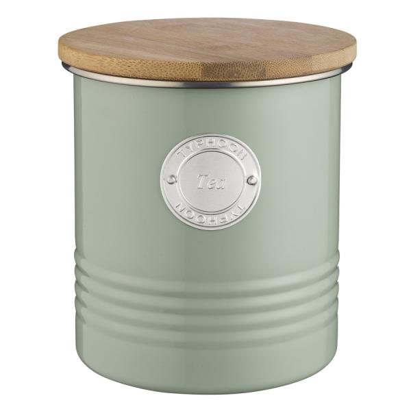 Емкость для хранения чая living зеленая 1 л