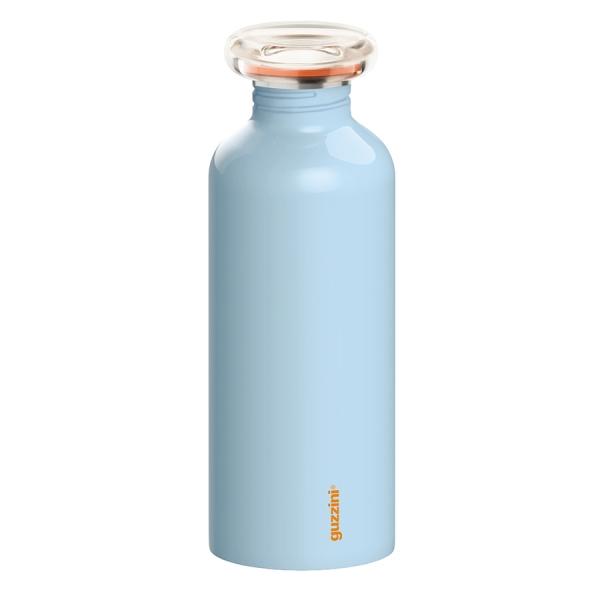 Бутылка on the go 650 мл голубая