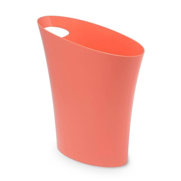 Контейнер мусорный skinny розовый