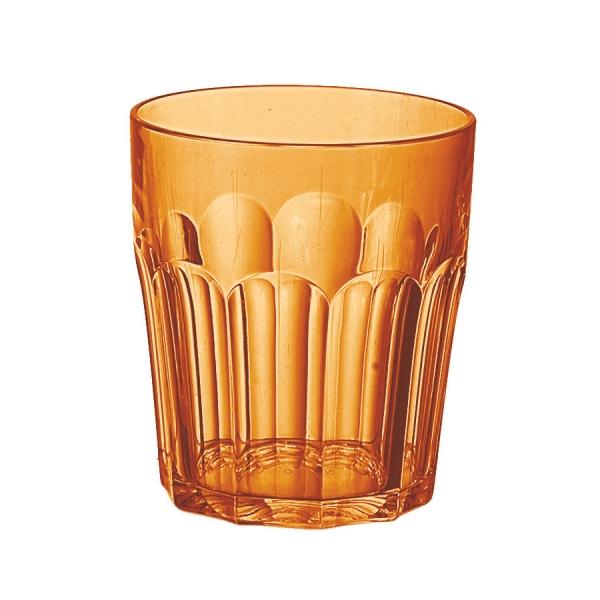 Стакан happy hour 250 мл оранжевый
