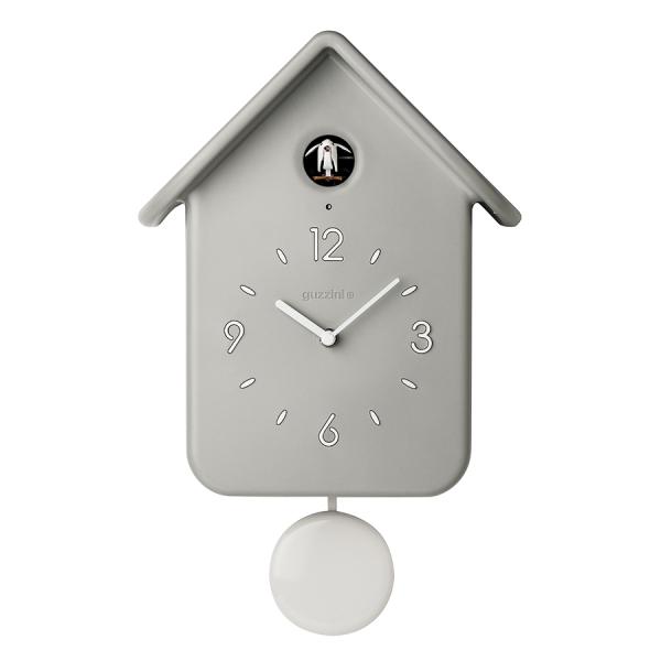Часы с кукушкой qq серые