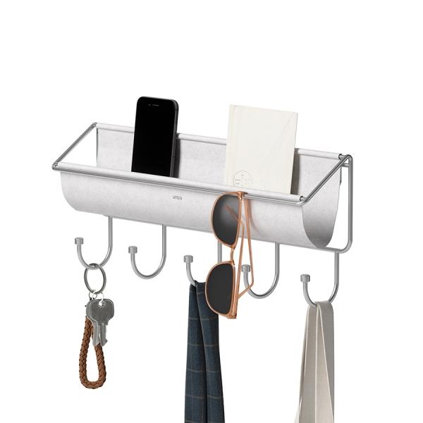 Полка-органайзер hammock серая