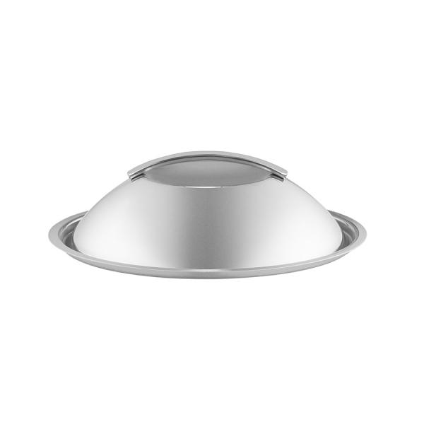 Крышка-купол 20 см нержавеющая сталь
