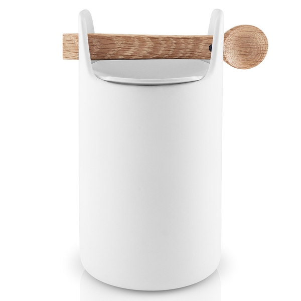 Емкость для хранения с ложкой 20 см