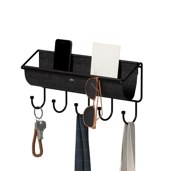 Полка-органайзер hammock черная