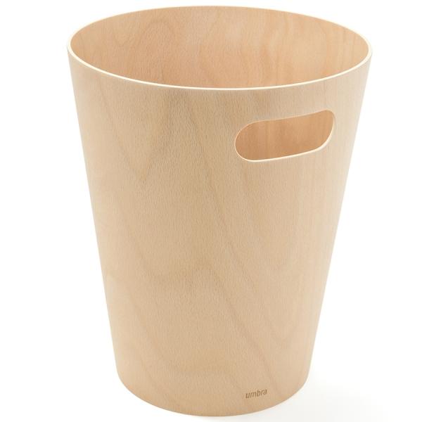 Корзина для мусора woodrow натуральное дерево