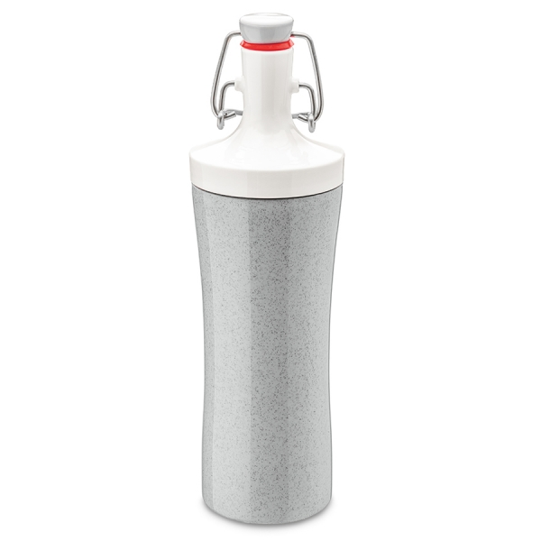 Бутылка для воды plopp to go organic 425 мл серая