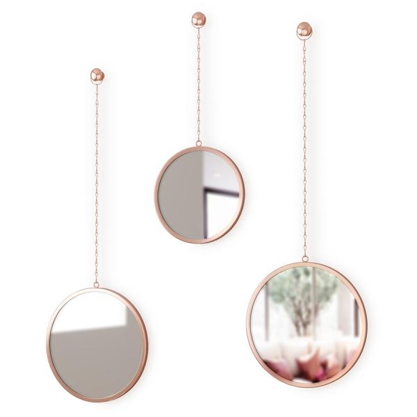 Зеркала декоративные dima круглые медь