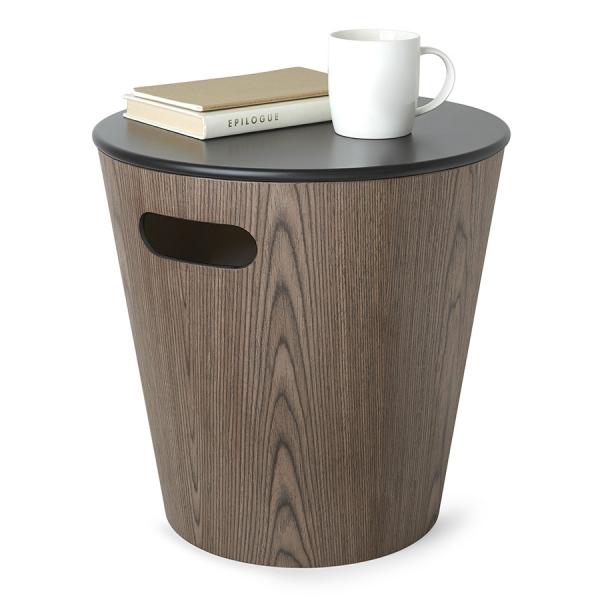 Табурет woodrow чёрный-орех