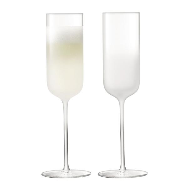 Набор из 2  бокалов-флейт для шампанского mist 225 мл