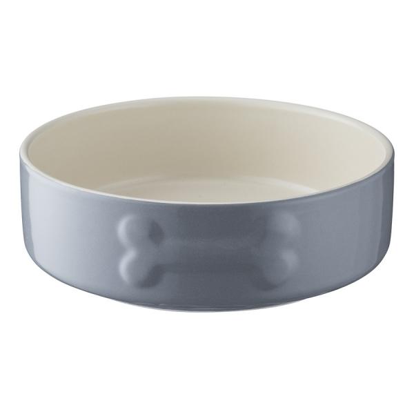Миска для собак colour mix 15 см серая