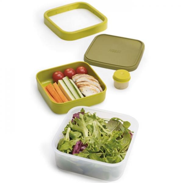 Ланч-бокс для салатов компактный GoEat™ зелёный Joseph Joseph