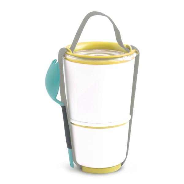 Ланч-бокс lunch pot желтый