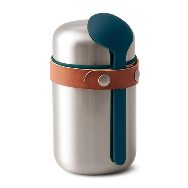 Термос  для горячего food flask бирюзовый
