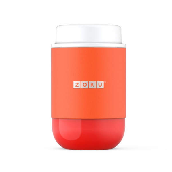 Вакуумный контейнер neat stack 475 мл оранжевый