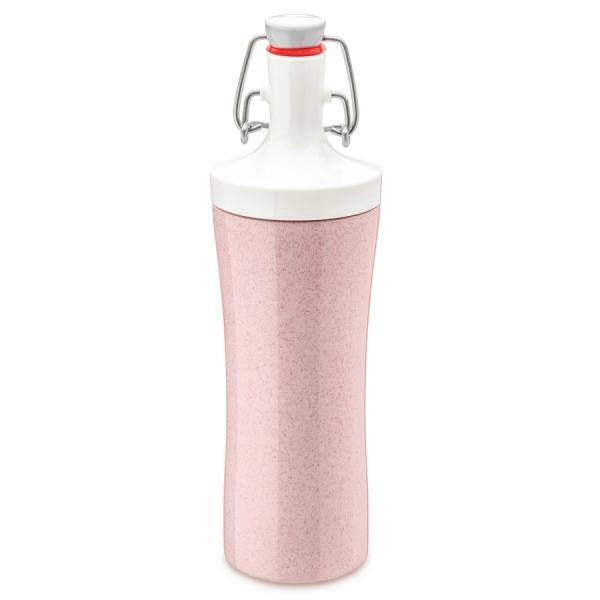 Бутылка для воды plopp to go organic 425 мл розовая