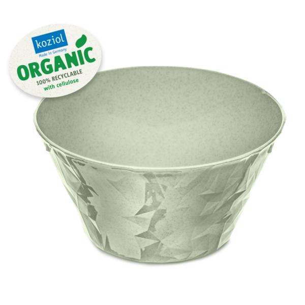 Салатница club bowl s organic 700 мл зелёная