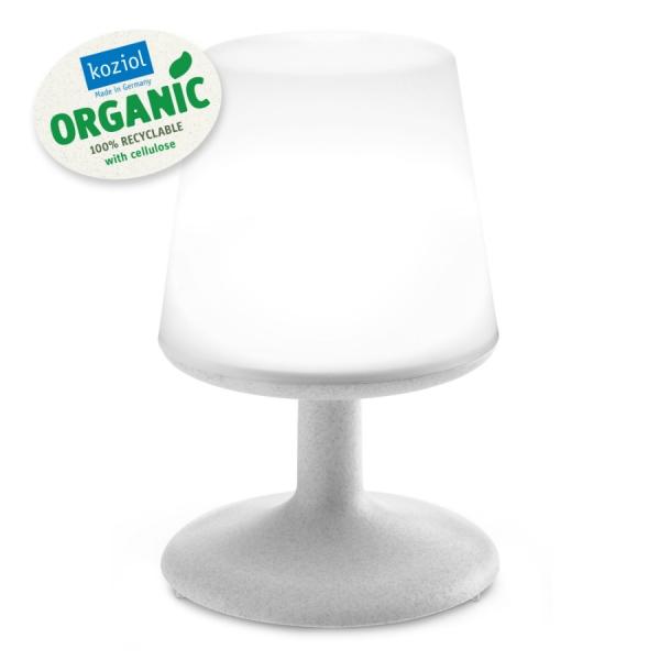 Лампа настольная light to go organic серая