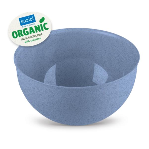 Миска palsby m organic 2 л синяя