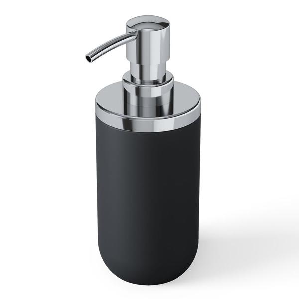 Диспенсер для мыла junip черный-хром