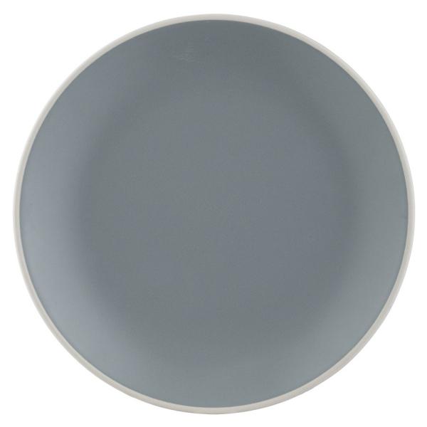 Тарелка обеденная classic 26,5 см серая