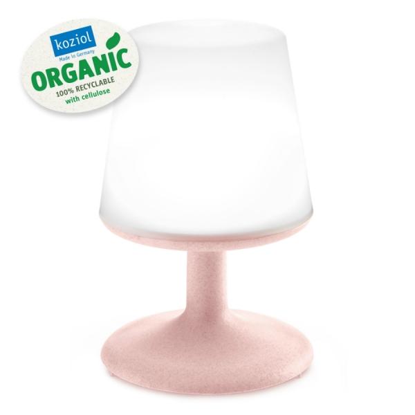 Лампа настольная light to go organic розовая