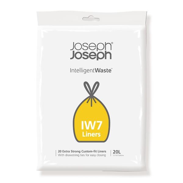 Пакеты для мусора iw7 20л экстра прочные (20 шт)