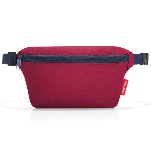 Сумка поясная beltbag s dark ruby