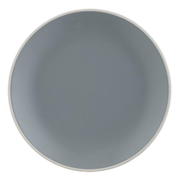 Тарелка classic 20,5 см серая