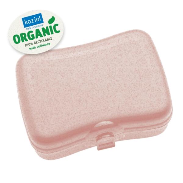 Ланч-бокс basic organic розовый