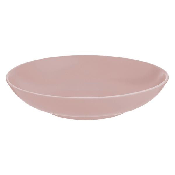 Тарелка для пасты classic 23 см розовая