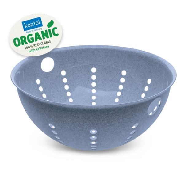 Дуршлаг palsby l organic 5 л синий