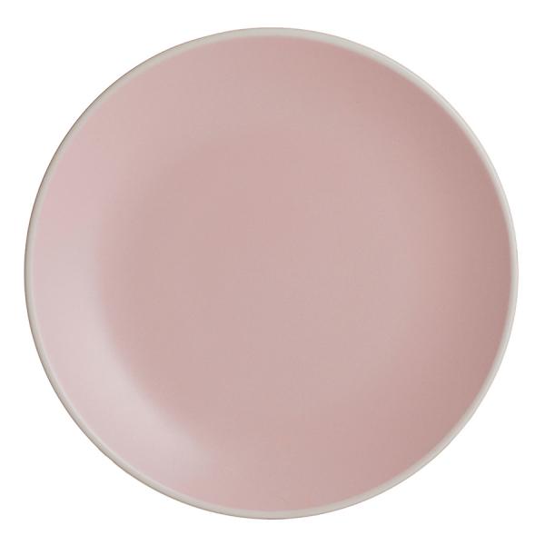 Тарелка classic 20,5 см розовая