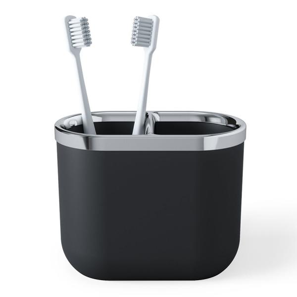 Органайзер для зубных щеток junip черный-хром