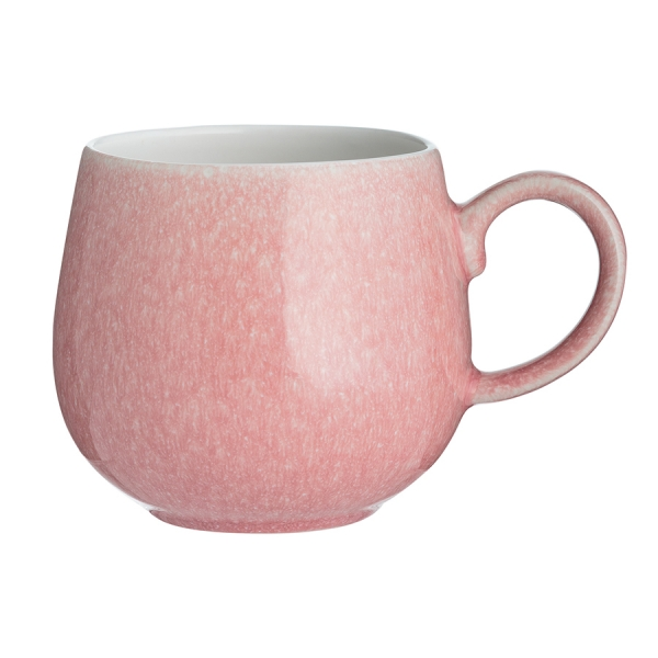 Чашка reactive 350 мл розовая