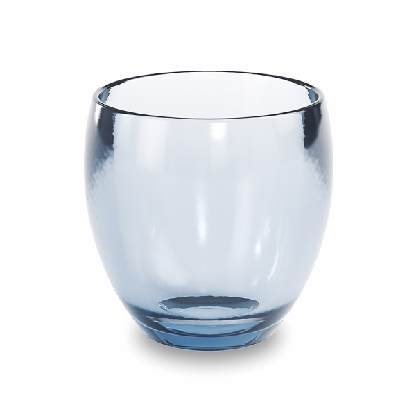 Стакан для зубных щеток droplet синий